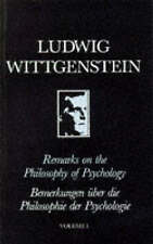 Remarks on the Philosophy of Psychology-ExLibrary