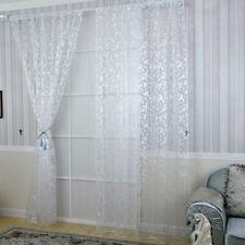 100x200cm Kaffee Fenster Tür Vorhang Tafel Tulle Zimmer Balkon Divider