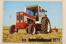 prospectus brochure tracteur Gamme ih international 1973 cormick tractor traktor