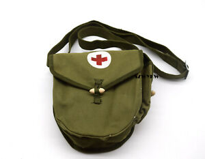Original Supplus Military Chinese Army 56 Drum Magazine Pouch First Aid Pouch