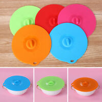Cooking Utensil Universal Pot Covers Bowl Pan Silicone Lid Spill Stopper