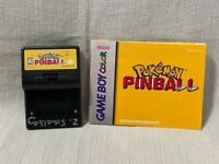 Pokemon Pinball Nintendo Gameboy Color Game Cartridge Manual Authentic & Working