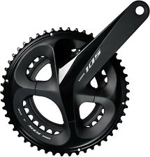 Shimano 105 R7000 11 Speed 36T 52T 11 x 2 Double Chainset 170mm Black eb3
