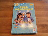Disney Donalds großes Zahlenspiel Wir zählen bis 10 Vintage Retro Schmidt Spiele
