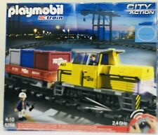 New Sealed Playmobil 5258 RC Freight Train Set