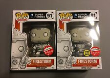 Funko Pop! White Lantern Firestorm #91 Regular & GITD -  SDCC 216 Fugitive Toys