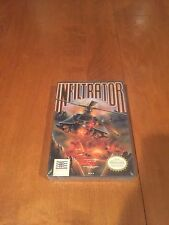 Infiltrator Nintendo NES Video Games NIB Mindscape NIP 1989 new in package