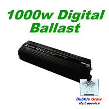 GROWLITE 1000W DIGITAL BALLAST MH/HPS DIMMABLE FAN COOLED GROWLUSH
