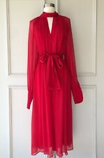 | COUNTRY ROAD | twist knot dress scarlet | NEW | $199 | SIZE: 8,10,12,14,16 |