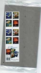 US SCOTT #3457e 34c xf mnhog bklt of (20) Flowers SA 2000 commemoratives