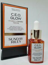 SUNDAY RILEY C. E. O Glow Vitamin C + Turmeric Face Oil 15ml New In Box Travel