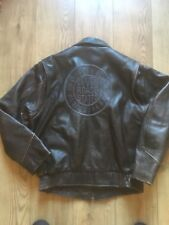 Chevignon Flying Wear Leather Motor Jacket Size XL. (Fits L)