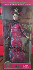 The Princess Of China Barbie Collector Edition Dolls of The World 2001