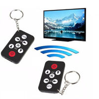 Universal Infrared IR Stealth Mini TV Remote Control Keychain KeyRing Prank Tool