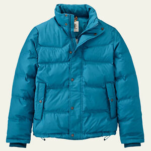 NWT Timberland Men's Earthkeepers Goose Eye Mountain Down Jacket Heavy Warm Coat