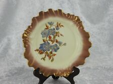 ANTIQUE ROYAL WORCESTER BLUSH IVORY PLATE - CIRCA 1889