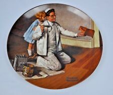 Norman Rockwell - The Painter - Collector Knowles Limited Plate Rockwell Heritag