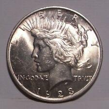 1923 Peace Silver Dollar , Select BU