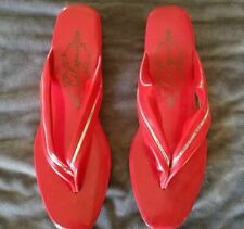 Vintage Japanese Lily Sandal Shoes