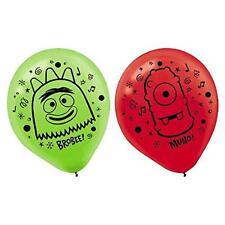 Yo Gabba Gabba! Nick Jr Cartoon Kids Birthday Party Decoration Latex Balloons