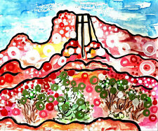 ARIZONA ART SEDONA cathedral desert landscape Chapel of the Holy Cross ebay.com