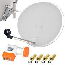 TechniSat Digitale SAT Anlage 60cm Satelliten Spiegel QUAD LNB Schüssel HDTV HD