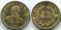 "T514a Aupuni Hawaii, King Kamehameha II, Hapa Haneri souvenir token, 27mm 1.1"""