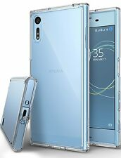 Sony Xperia XZ / XZs Case Anti Dust Clear Cover Screen Protector Bumper Tough