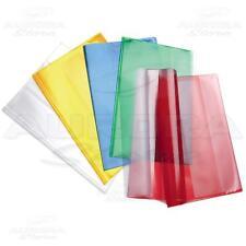10 copriquaderni Maxi PPL A4 Copertine Quadernoni trasparenti Colorati Favorit -