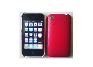 Coque Arrière (écaille rouge) ~ Apple iPhone 3G / iPhone 3GS