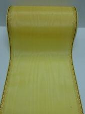 1Rollen Moiré Kranzschleifenband  Kranzband honig 17,5 cm mit Rand