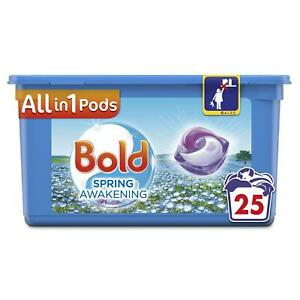 Bold All in 1 Pods Spring Awakening Washing Liquid Capsules with 25 Fresh Washes