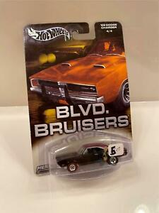 Hot Wheels Blvd. Bruisers '69 Dodge Charger #4/4 D11