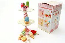 Mother Garden Strawberry Ice Cream Cake Pretend Role Play Kitchen Wooden Kid Toy