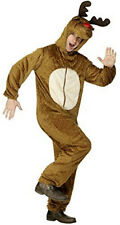Smiffy's Reindeer Adult Costume with Hood Size Medium