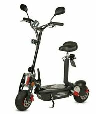 Patinete scooter electrico 1000w 45 km/h  matriculable negro Reacondicionado