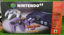 New listing Nintendo 64 Console - Atomic Purple Controller Edition - Cib Complete N64
