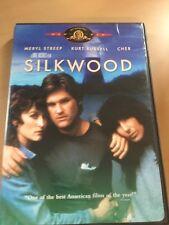 Silkwood (DVD, 2003) RARE OOP! Kurt Russell, Meryl Streep, Cher.