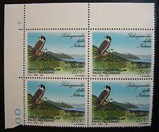 1991  Italia quartina  Salvaguardia della Natura Falco  500 lire  MNh**