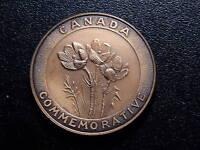 CANADA COMMEMORATIVE 1870 - 1970 MANITOBA TOKEN!   LL157SSQ11