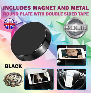 In Car Magnetic Phone Holder Mount Fits Dashboard Dash Mobile Universal iPhone X