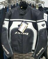 Ixon Progress Leather Sports Motorcycle Motorbike Jacket - RRP £249.99 - Small