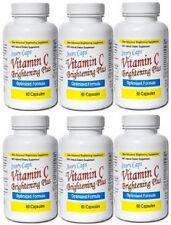 6 IVORY CAPS VITAMIN C BRIGHTENING PLUS bearberry extract malic acid ex 1/2021