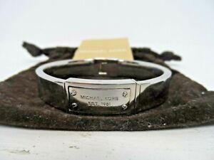 Michael Kors Stainless Steel Bangle Bracelet  J1