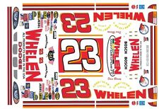 #27 Dave Blaney WHELEN Motorsports 1/24th - 1/25th Scale Waterslide Decals