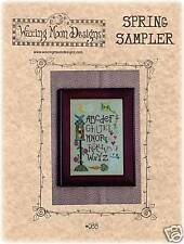 Easter Spring Sampler Cross Stitch Chart PRICE REDUCED