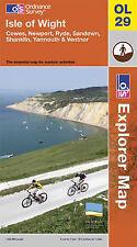 Isle of Wight (OS Explorer Map), Ordnance Survey, Good, Map