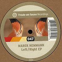 """12"""" MAREK HEMMANN - LEFT / RIGHT EP - Freude Am Tanzen FAT 047"""