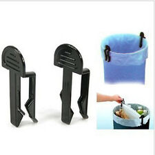 Competitive Prices 2Pcs Garbage Can Waste Bin Trash Can Bag Clip Holder QWC