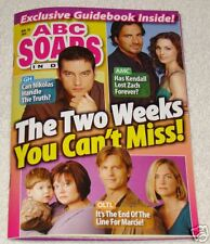 ABC Soaps In Depth - Nov 20 2007 Thorsten Kaye +More